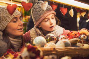Christmas market - vintage look
